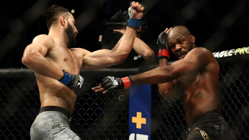 Quite how the judges saw Jon Jones as beating Dominick Reyes is anyone