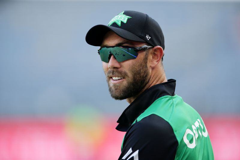 Glenn Maxwell was named the captain of the BBL09 Team of the Season