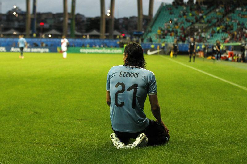 Edinson Cavani is one of the great strikers of his generation