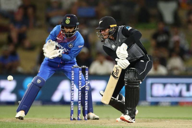 Martin Guptill was the least successful batsman from New Zealand
