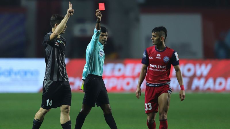 Jitendra was sent off against ATK recently