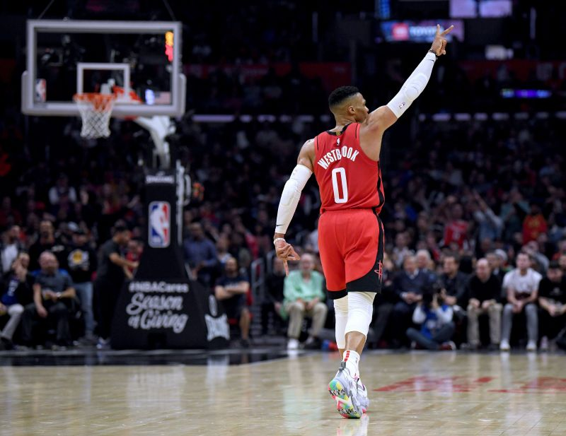 Russell Westbrook has a true shooting percentage of 53.5