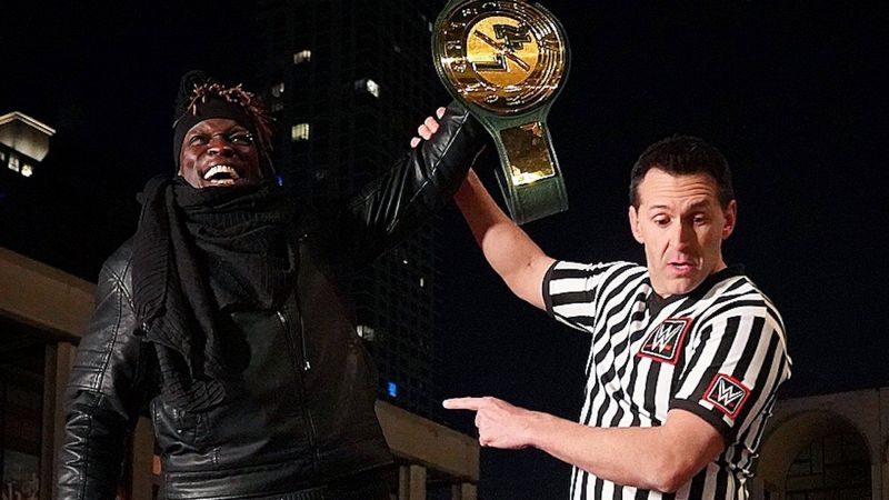 Lesnar really wants to work with R Truth? Ok, I have an idea.