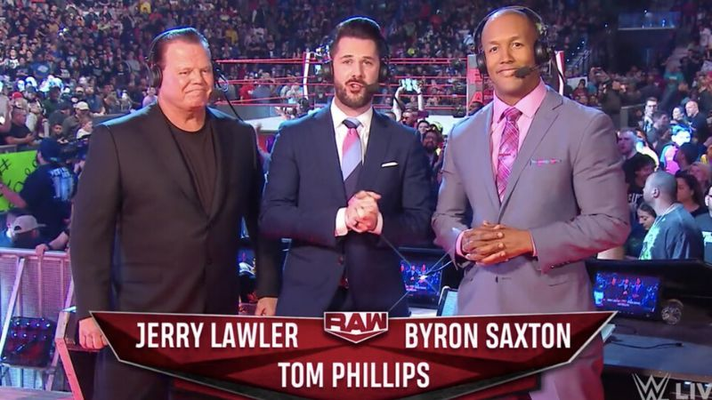Jerry Lawler is one of three commentators on RAW