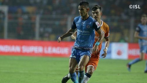 Jitendra Singh has given a good account of himself at Jamshedpur FC