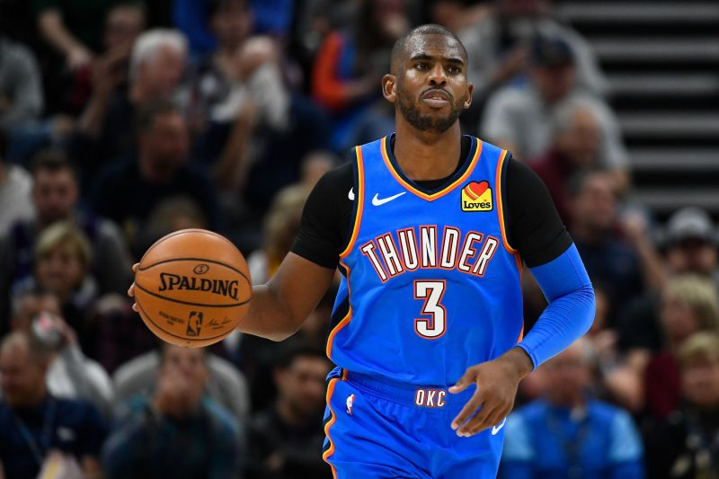 Chris Paul has been averaging 17.1 points and dishing 6.6 assists per game this season.