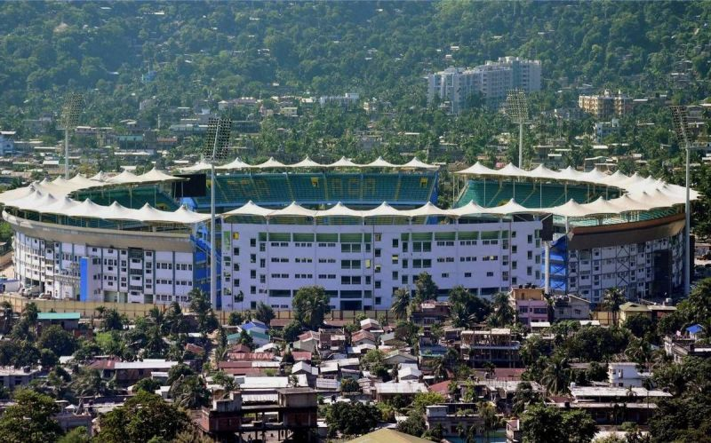 Barsapara Cricket Stadium, officially known as Dr. Bhupen Hazarika Cricket Stadium can seat 40,000