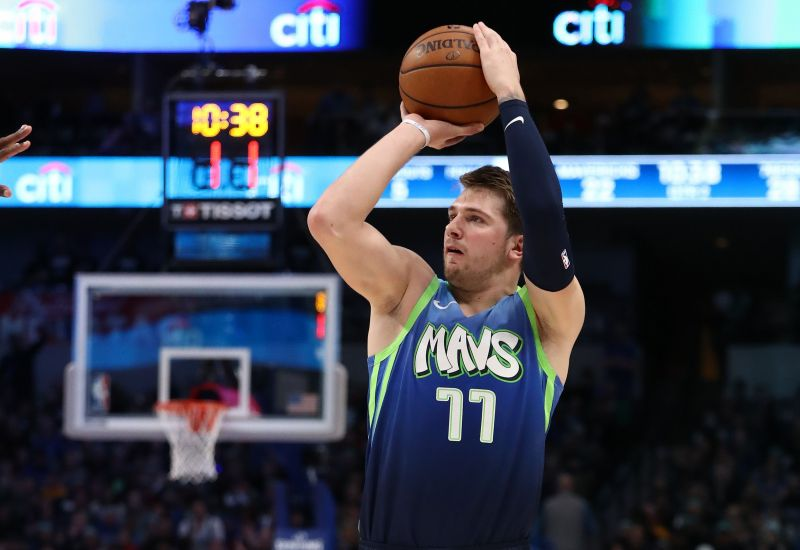 Luka Doncic is among the players sidelined with injuries