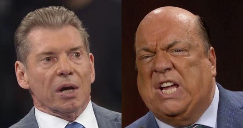 Vince McMahon and Paul Heyman