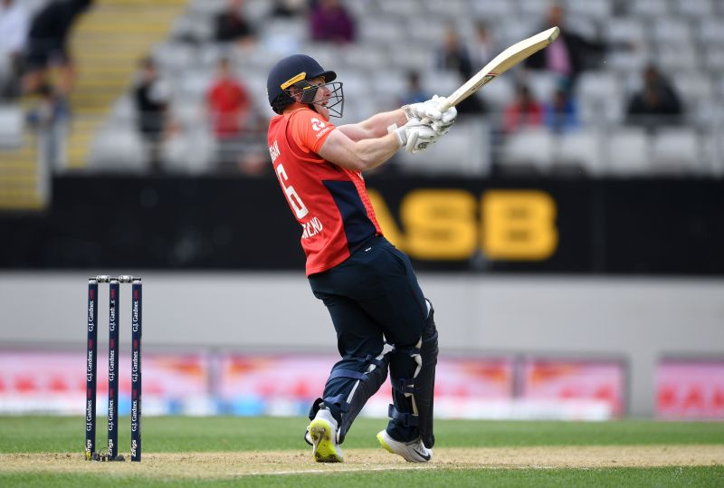Eoin Morgan played an excellent hand of 52 to help England inch closer to victory