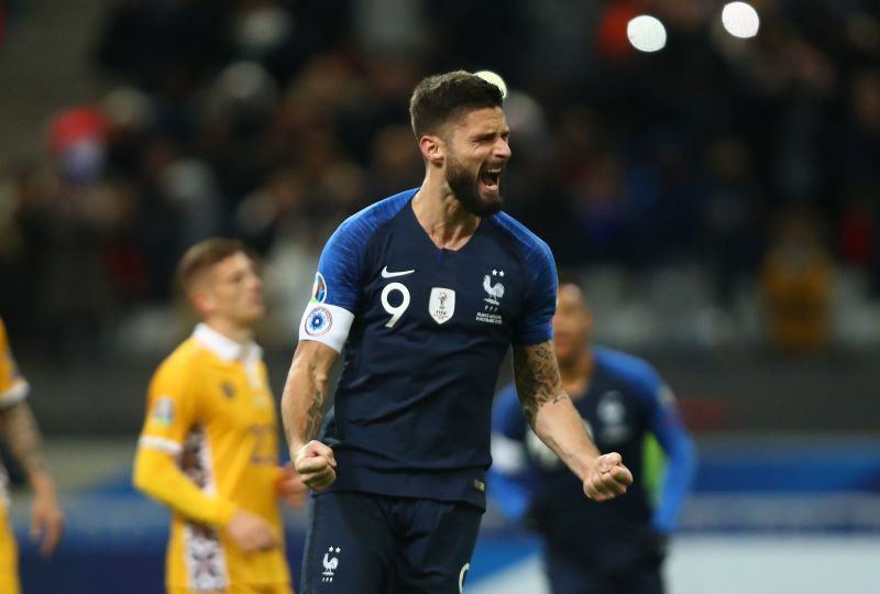 Ahead of the Euros, Olivier Giroud will be hoping for increased game time at Chelsea