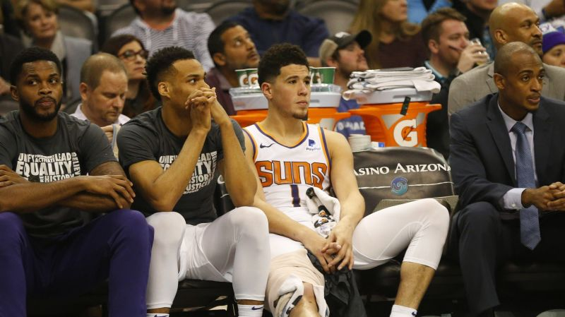 The Phoenix Suns will be looking to snap their losing streak when they host the Houston Rockets