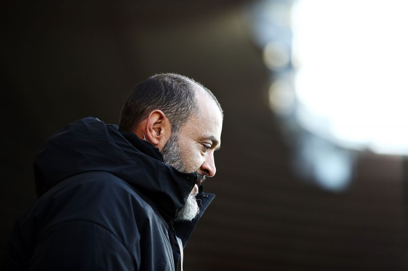 Nuno might be searching for a midfielder in the summer