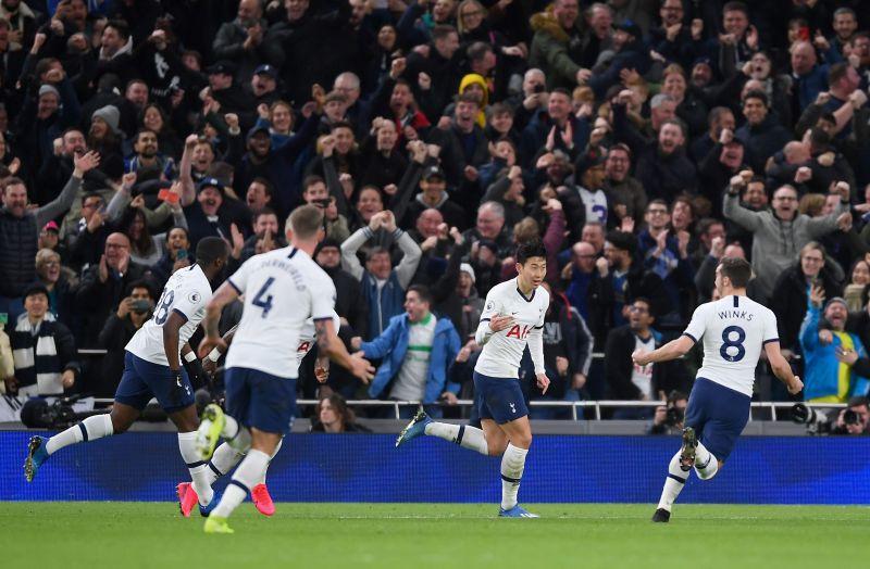 Tottenham Hotspur beat 2-0 Manchester City