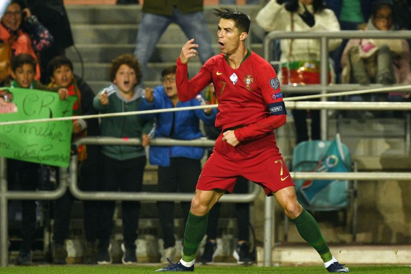 Ronaldo is just one goal shy of a century of goals for Portugal