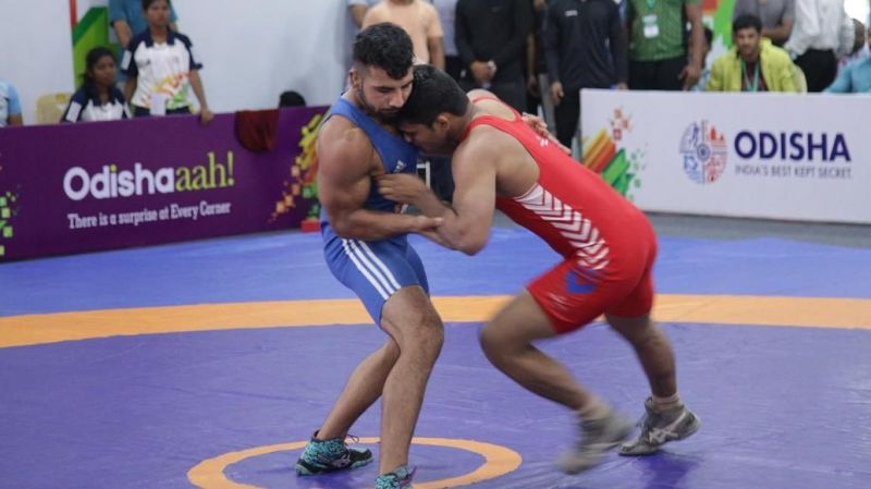 Friday saw the last day of action in wrestling at the Khelo India University Games 2020
