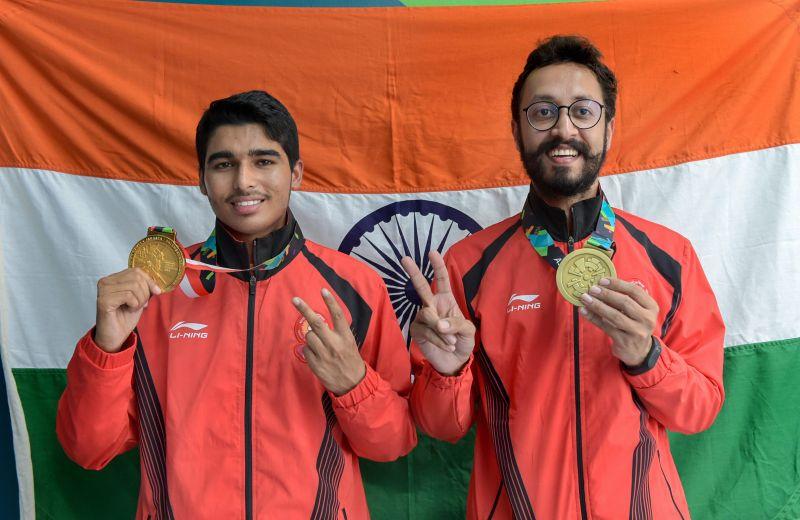 Saurabh Chaudhary (L) and Abhishek Verma (R)