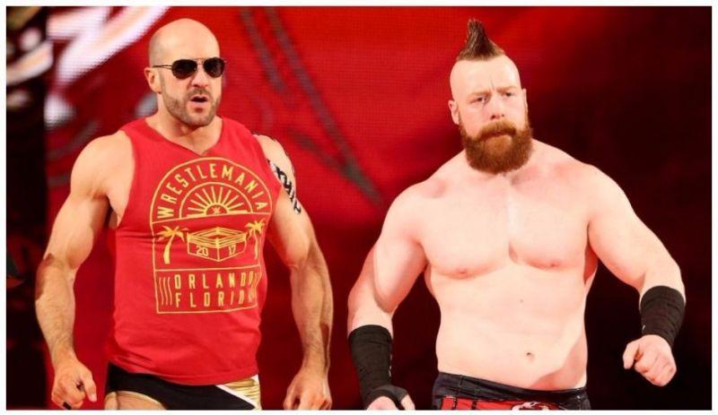Sheamus had high praise for his former tag team partner