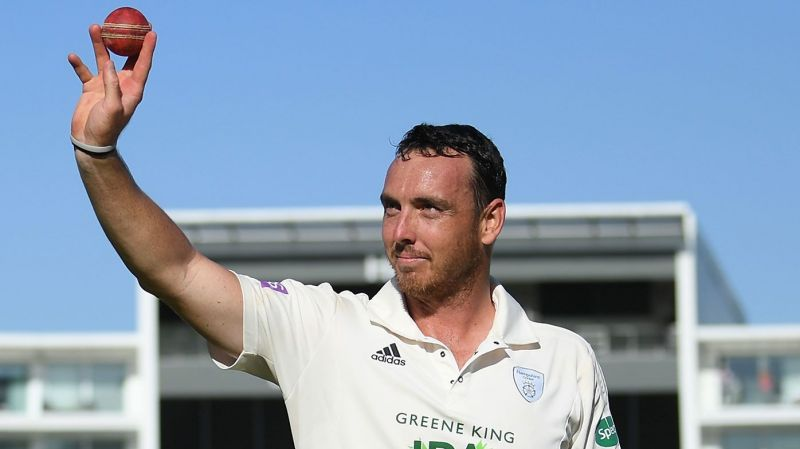 Kyle Abbott took 17 wickets in a game for Hampshire earlier this season.