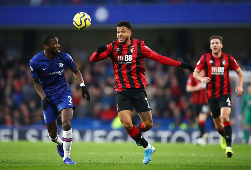 King for Bournemouth, playing against Chelsea in the Premier League.