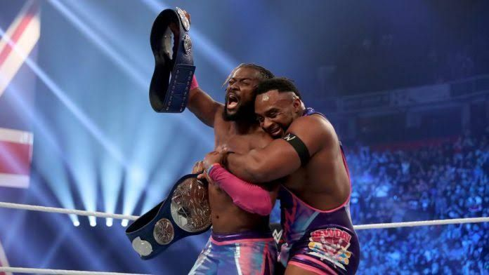 SmackDown Tag Team Champions The New Day