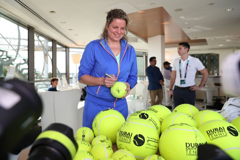 Kim Clijsters at this year
