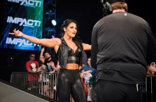 Taya Valkyrie had cut a scathing promo on Tessa Blanchard