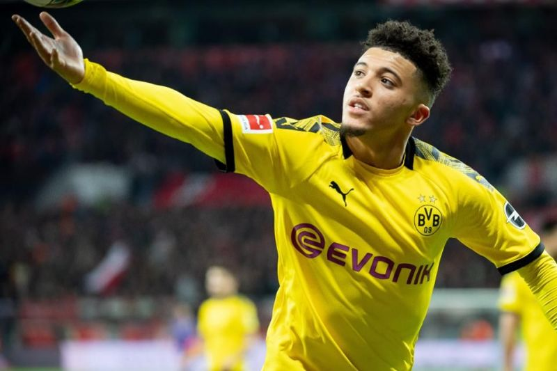 Jadon Sancho is currently being watched by many top clubs.