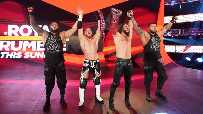 The RAW Tag Team division has been in a run for a while now