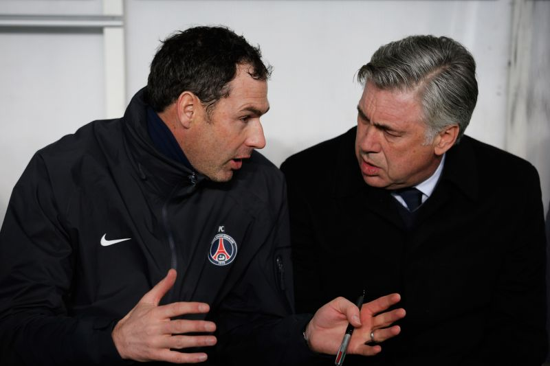 Carlo Ancelotti and assistant Paul Clement failed to mastermind European success at Paris Saint-Germain