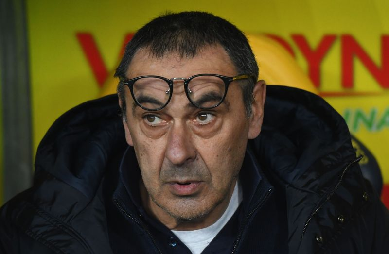 Frustration has been a common theme for Sarri