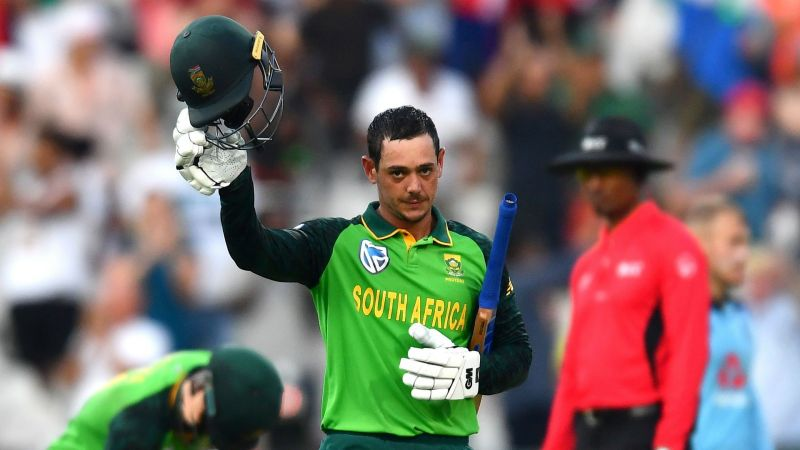South Africa captain Quinton de Kock