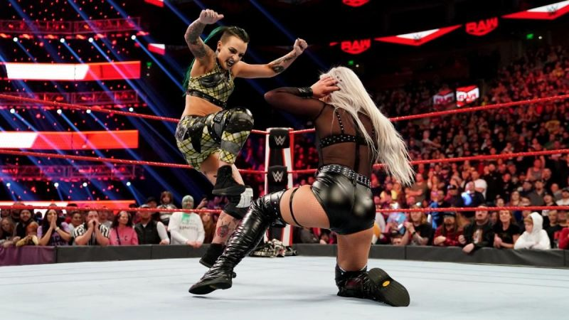 Ruby Riott returned and turned on her best friend