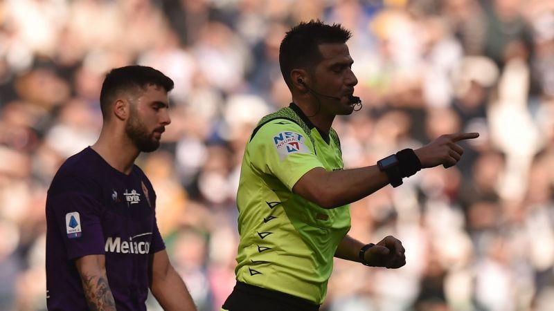 Referee Fabrizio Pasqua - cropped