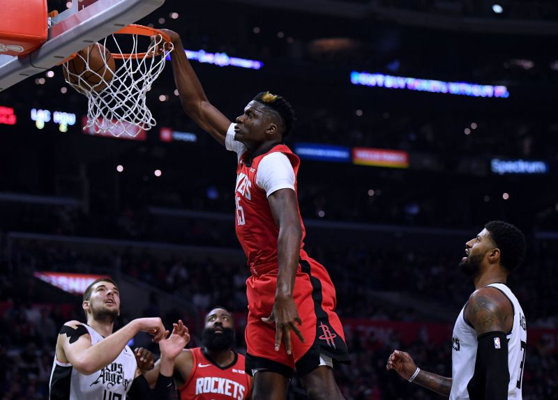 Clint Capela continues to be one of the most underrated players in the league