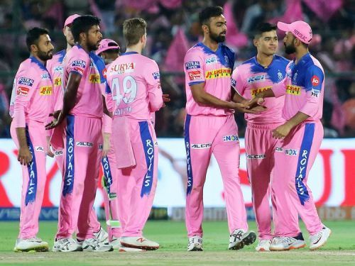 Rajasthan Royals had made a request last year to shift their base outside Jaipur