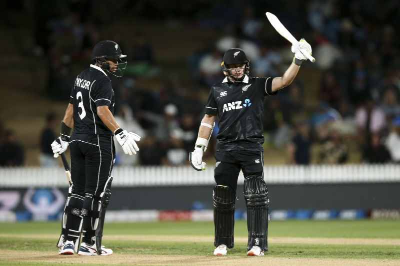 Ross Taylor and Tom Latham