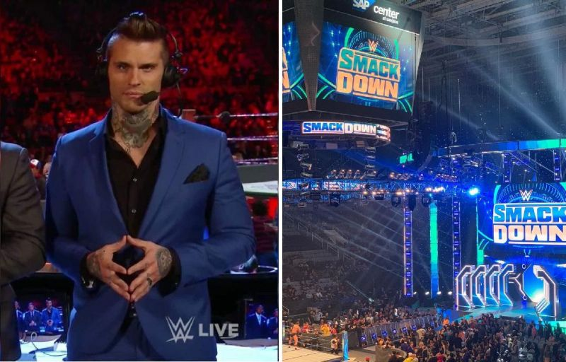 Corey Graves had a few issues in San Jose