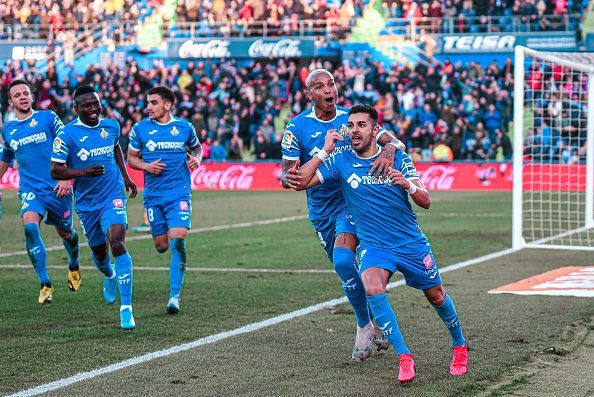 Getafe occupy third place in La Liga and have also progressed in the Europa League