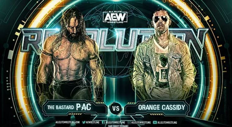 Orange Cassidy will make his singles debut at Revolution