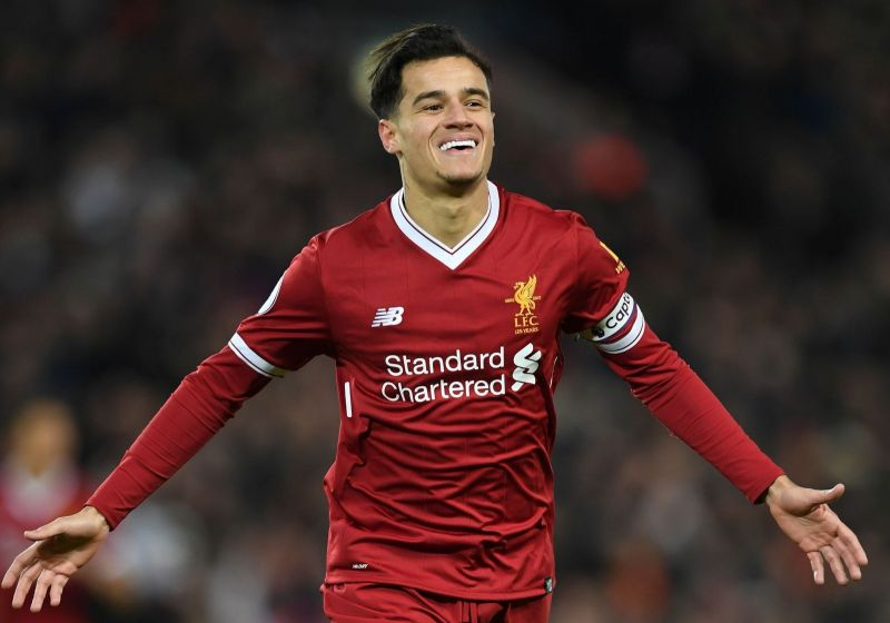 Coutinho was involved in 76 goals in 152 Premier League games at Liverpool.