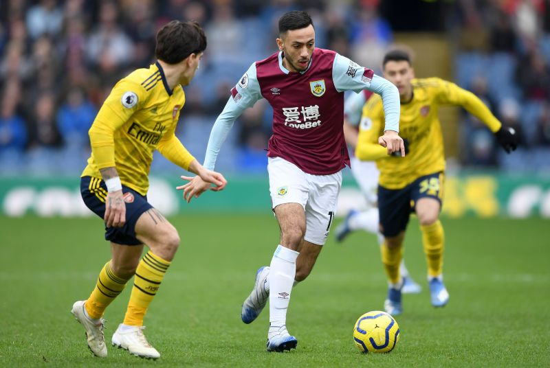 Dwight McNeil troubled Hector Bellerin throughout the game