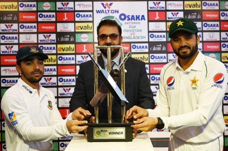 Pakistan will host Bangladesh in the first Test at Rawalpindi