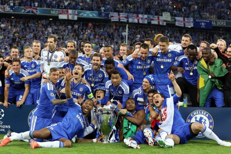 Chelsea won their lone Champions League title in 2012