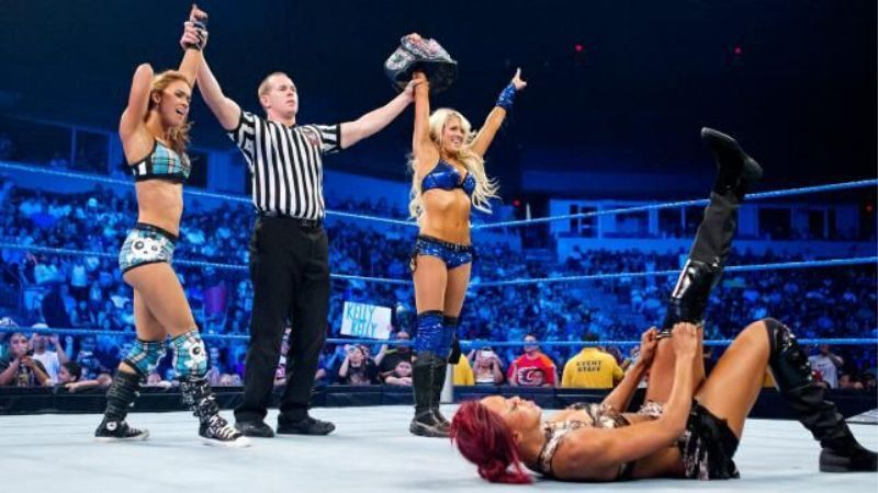 Kelly Kelly held the Divas Championship on one occasion