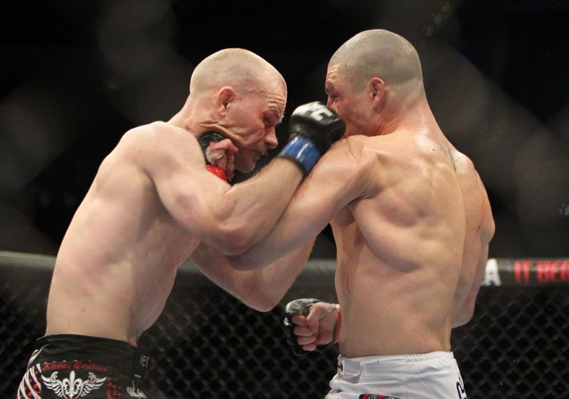 2011 saw Sanchez go to war with Martin Kampmann in an instant classic