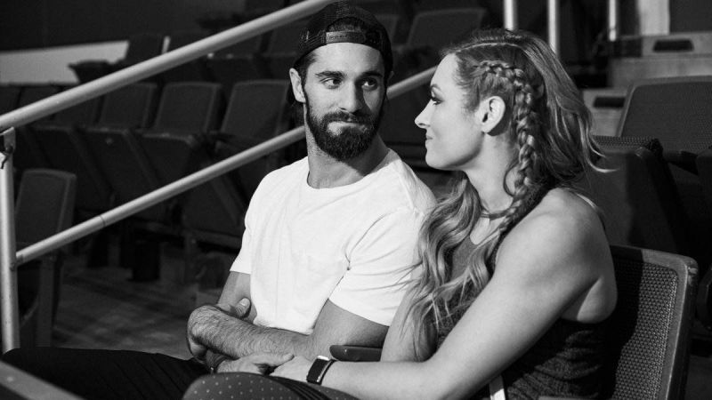 Seth Rollins proposed to Becky Lynch in August 2019