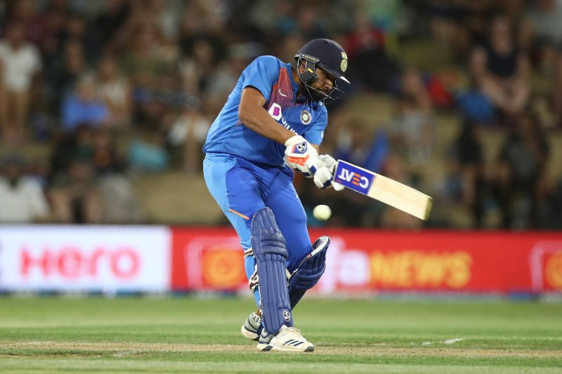 Rohit Sharma injured his calf muscle while trying to take a quick single in the 5th T20I