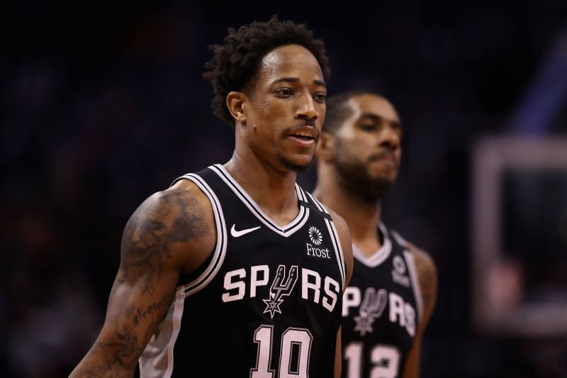 The San Antonio Spurs travel to Denver to face the Nuggets
