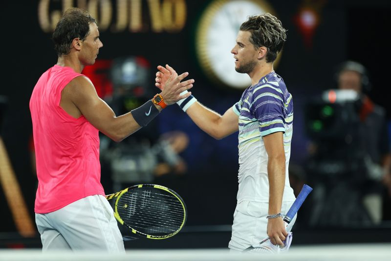 2020 Australian Open - Nadal lost to Thiem in the quarter-final